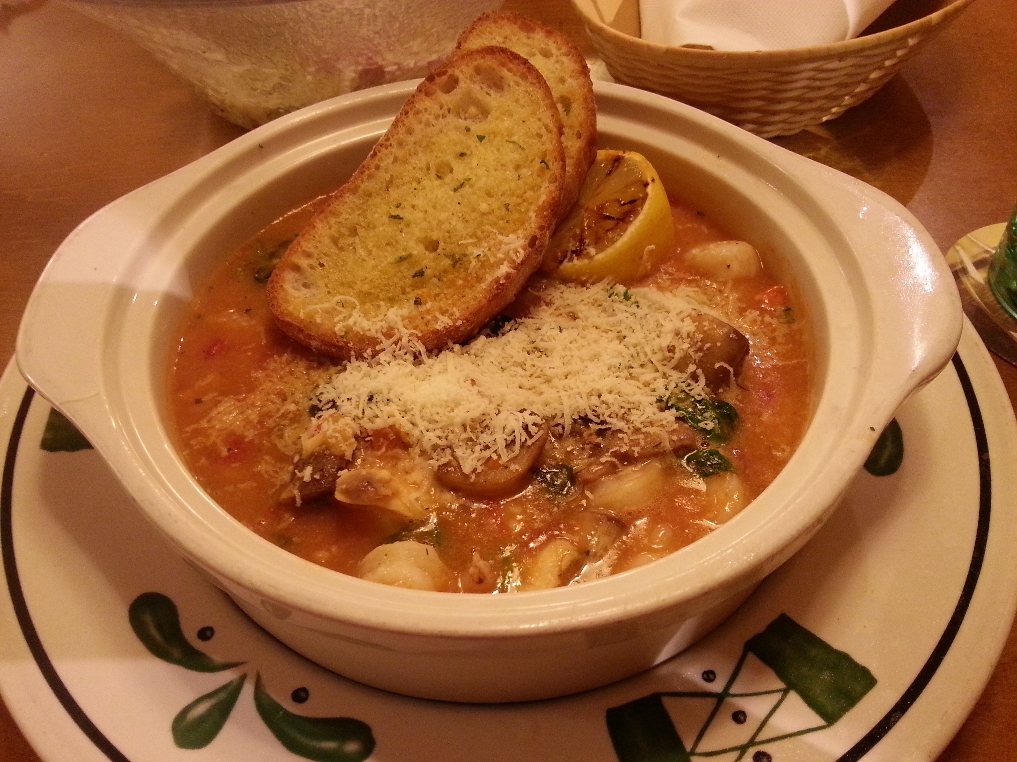 The Feisty Foodist » Olive Garden Lake Buena Vista